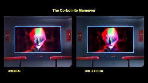 """TOS """"The Corbomite Maneuver"""" - """"Fausse manoeuvre"""" - comparaison des effets spéciaux 2"""