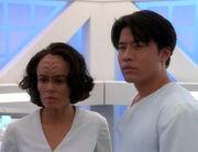 B'Elanna and Harry Kim