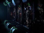 Borg Alkoven im Frachtraum