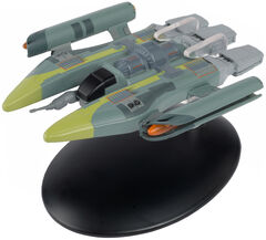 Eaglemoss 139 Vaadwaur Fighter