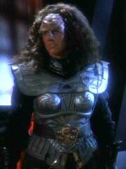 Klingonische Wächterin Spiegeluniversum