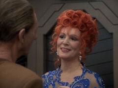 Lwaxana in love