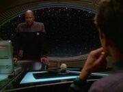 Sisko und Bashir sprechen über Sektion 31