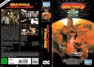 Star Trek II (Kinofassung - VHS Cover-Art)