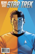 Star Trek Ongoing issue 1 cover B