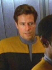 Sternenflottenoffizier Sicherheit 1 USS Voyager 2373 Sternzeit 50899