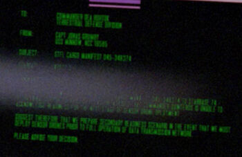 Horton on a Starfleet Command order