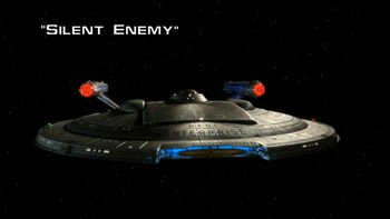 Silent Enemy title card