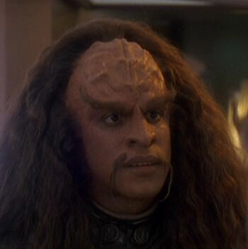 ...as Drex, son of Martok