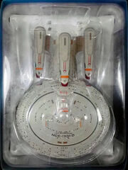 Eaglemoss Future USS Enterprise-D AGT box