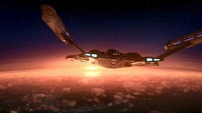Enterprise Sonnenuntergang