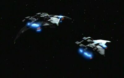 Federation attack fighters