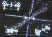 Quantum beacon graphic
