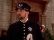 Riker als Polizist im 19. Jahrhundert