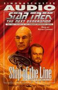 Ship of the Line audiobook cover, US cassette edition