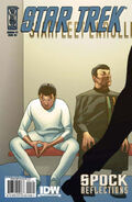 Spock Reflections issue 1 RI cover
