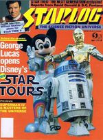 Starlog issue 118 cover