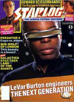 Starlog issue 162 cover