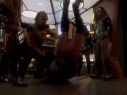 Worf kämpft mit Drex