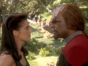 Worf macht Dax Vorwürfe