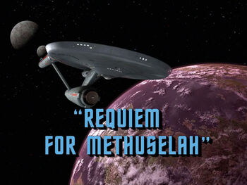 Requiem for Methuselah title card