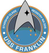 Franklin mission patch