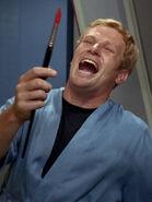Hysterisch lachendes Besatzungsmitglied Enterprise 2266