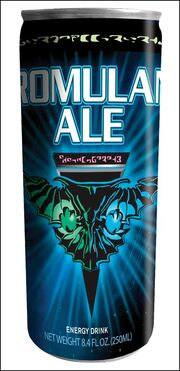 Romulan ale energy drink