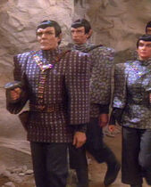 Romulanische Offiziere