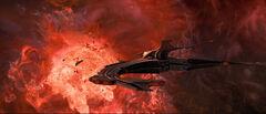 Sona battle cruiser aft