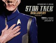Star Trek Discovery Season 2 Saru banner