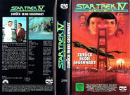 Star Trek IV (Kinofassung - Leih-VHS Cover-Art)