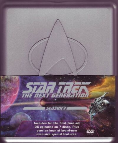 TNG Season 7 DVD-Region 2