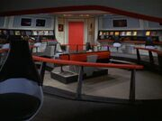 USS Enterprise replica bridge