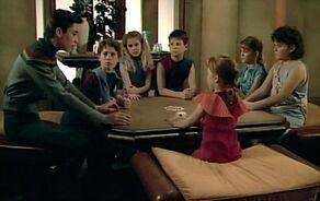 Wesley a děti
