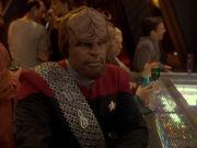 Worf hofft auf Angriff der Klingonen