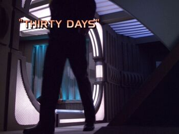 Thirty Days title card