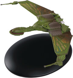Eaglemoss 3 Klingon Bird of Prey