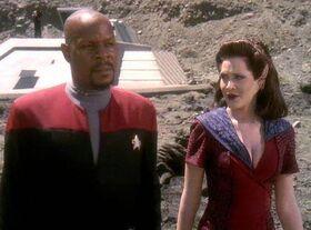 Sisko and Kilana