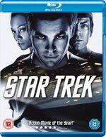 Star Trek 1 disc Blu-ray Region B cover