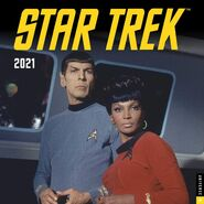 Star Trek Calendar 2021 cover