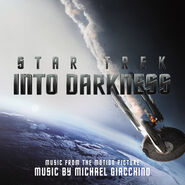 Star Trek Into Darkness (soundtrack) cover
