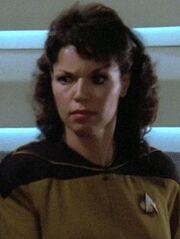 Sternenflottenoffizierin Sicherheit 2 USS Enterprise-D 2364
