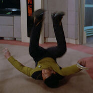 Stunt double LeVar Burton, Contagion