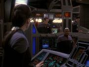 Dax berichtet von der baldigen Ankunft der Sternenflotte