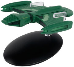 Eaglemoss 123 Romulan Science Ship