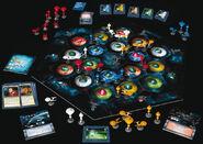 Star Trek Catan box contents