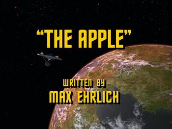The Apple title card