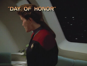 Day of Honor title card