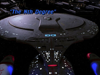 The Nth Degree title card